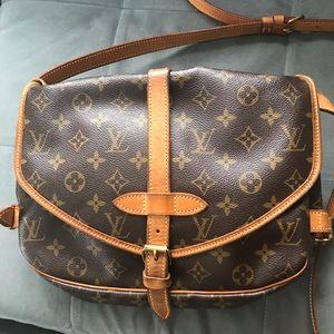 Louis Vuitton Saumur Monogram Crossbody Bag
